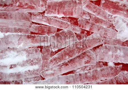 pile of icicles
