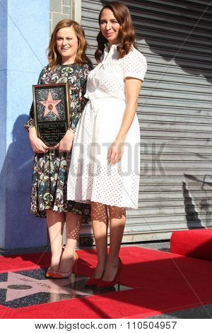 LOS ANGELES - DEC 3:  Amy Poehler, Maya Randolph at the Amy Poheler Hollywood Walk of Fame Ceremony at the Hollywood Blvf on December 3, 2015 in Los Angeles, CA