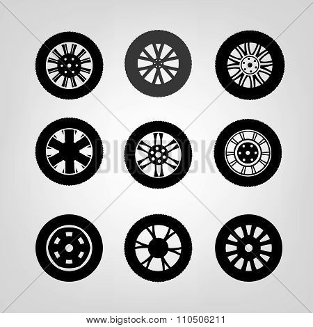 Tires Icons-03 A