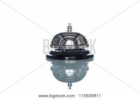 Service Bell On White Background,  Customer Demand