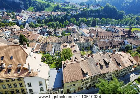 Fribourg, Roofs Of The City