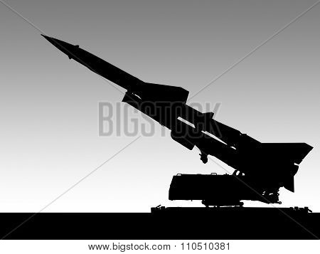 Missile Launcher Illustration