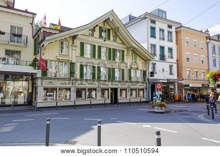 Interlaken, Historical House