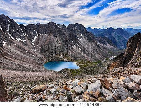 Top View Of A Mountain Circus
