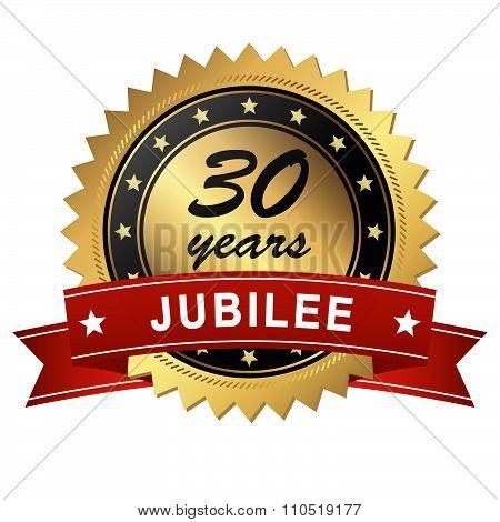 Jubilee Medallion - 30 Years