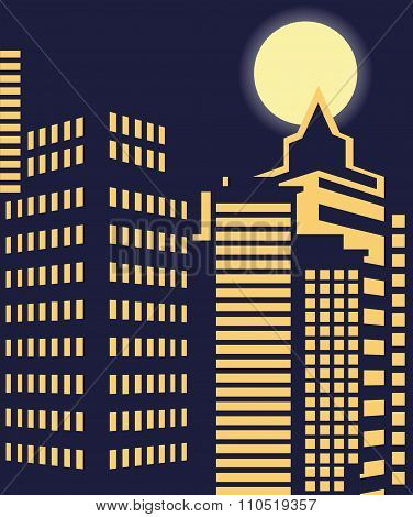 City Night Window
