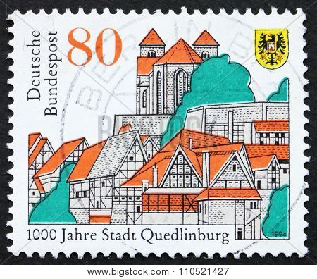 Postage Stamp Germany 1994 City Of Quedlinburg