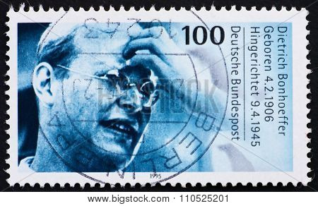 Postage Stamp Germany 1995 Dietrich Bonhoeffer