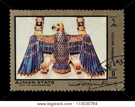 Ajman state 1972