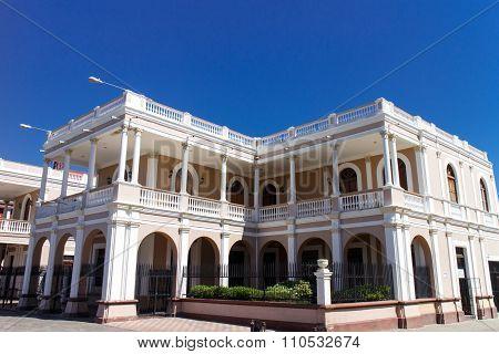 Spanish Colonial Buildings In Granada Nicaragua