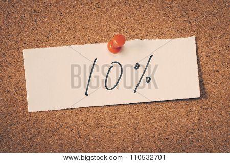 10 Ten Percent