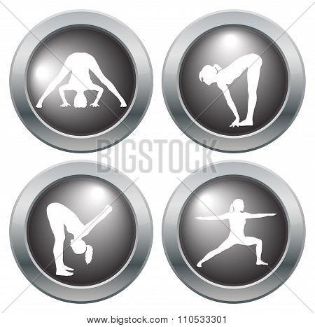 Yoga Icon Set 5