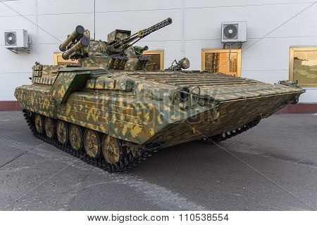 Infantry Fighting Vehicle Of Ukrainian Origin. Army And Industry