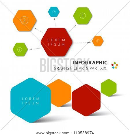 Vector flat design infographic elements - 19. part of my infographic bundle