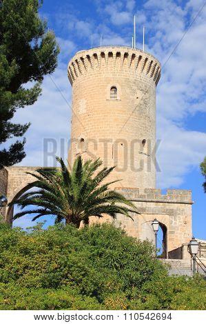 Bellver Castle in Palma De Mallorca