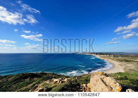 Coast Of San Giovanni Di Sinis