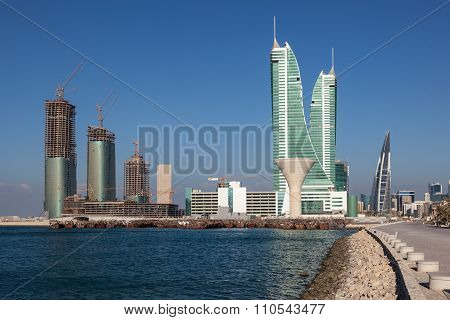 Financial Harbour In Manama, Bahrain