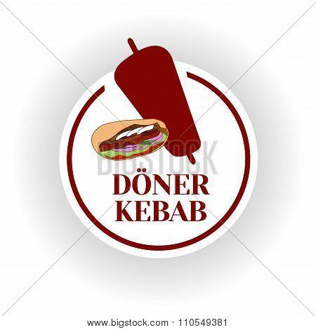 Doner kebab icon