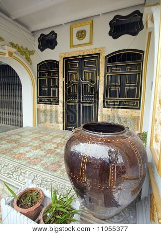 Sino Portuguese (Colonial) architecture in Phuket City Thailand