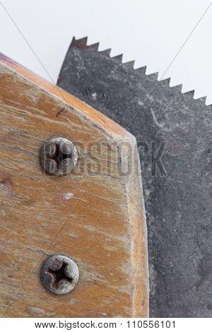 Saw / Old Handsaw Macro - Vintage Tool