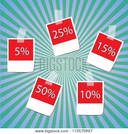 Sale Frame Design Vector
