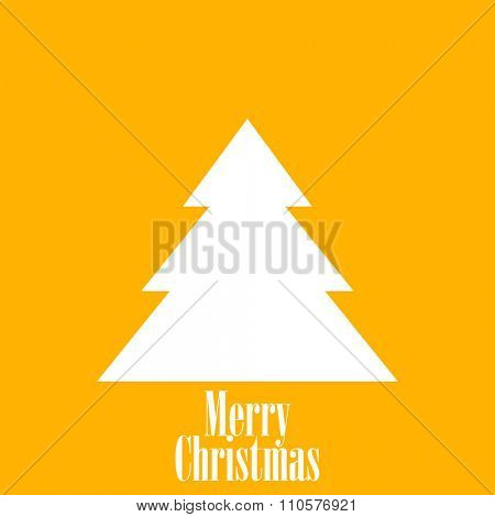 Yellow Christmas Gift Card