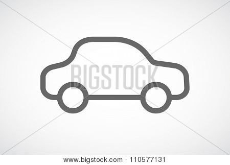 car icon outline