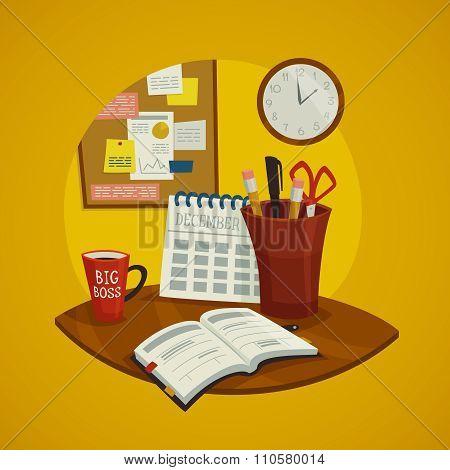 Workplace Design Concept Set