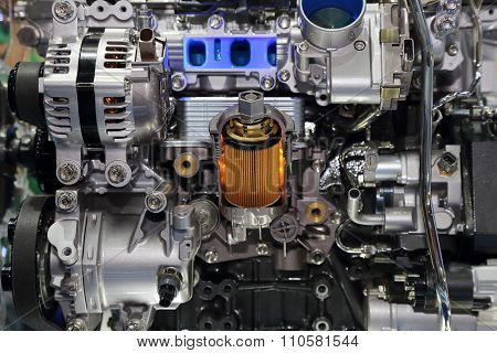 Part Of The Car Engine