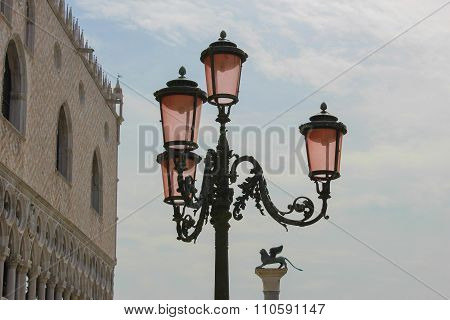 The Lamp In San Marco's Square, Venice