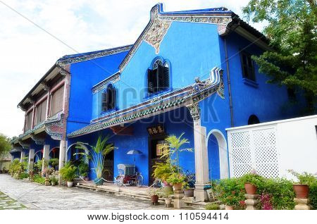 Exterior View Of Cheong Fatt Tze Mansion,penang
