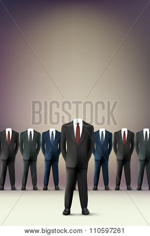 vector businessmen