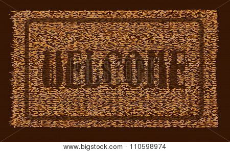 Welcome Coconut Doormat