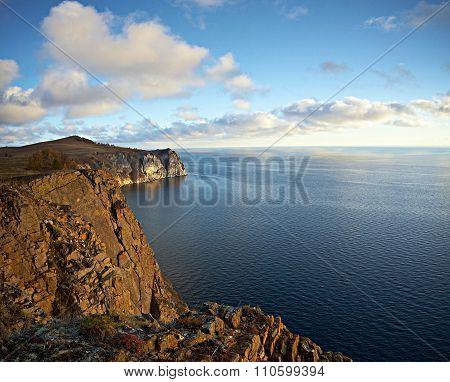 Baikal lake.  Olkhon island