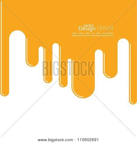 Abstract background with streaks