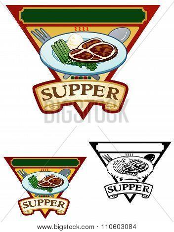Supper Illustration