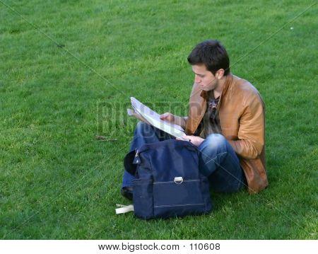 Casual Student Revising - Aris