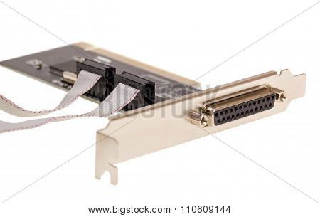Electronic Collection - Computer Digital Input Output Port Card