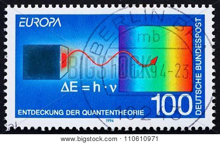 Postage Stamp Germany 1994 Max Planck