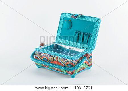 decorative basket casket