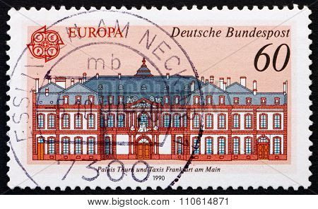 Postage Stamp Germany 1990 Thurn And Taxis Palace