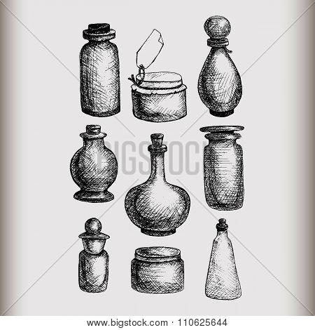 Vintage Jars And Bottles