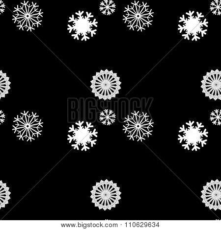 Snowflake Vector Pattern