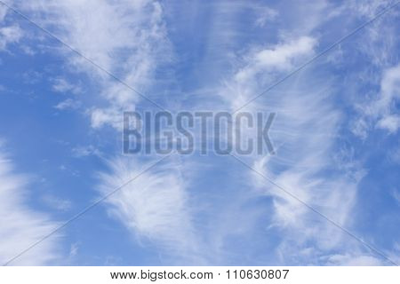 High Clouds In Early Summer