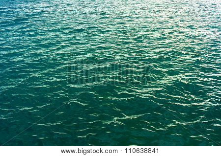 none focus of Sea surface texture background image