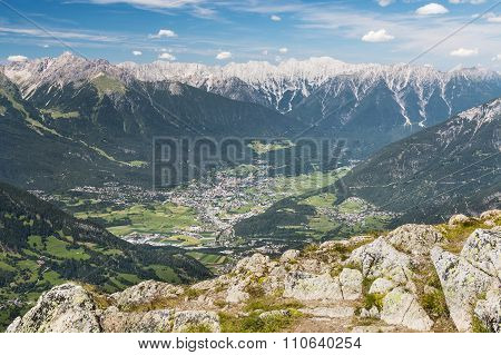Imst And Inn Valley In Austria