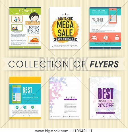 Creative collections of Flyer, Banner or Pamphlet for different business purpose.