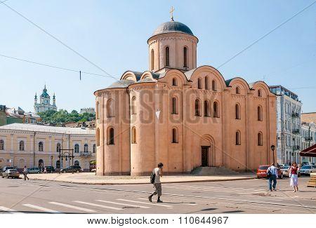 Church Of The Assumption Pirogoscha, In Kiev