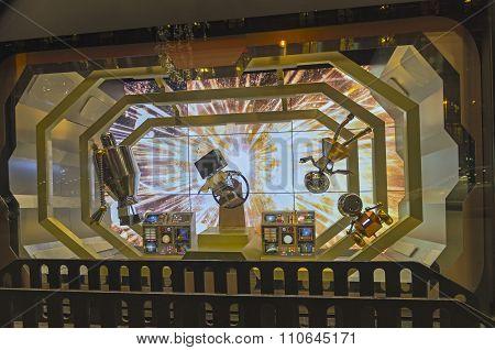 Fantastic Scene In Paris Shop Window