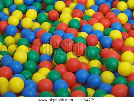 Children's Game Complex - Pool From Color Balls